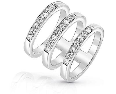 Luxusní trojitý prsten UBR84036