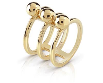 Trojitý pozlátený prsteň UBR85016