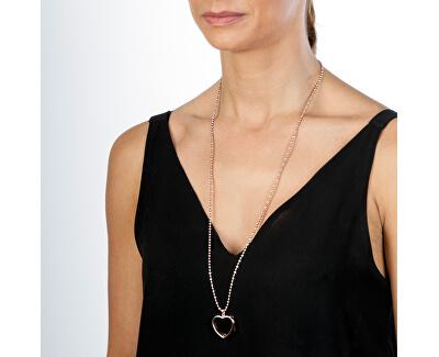 Pandantiv Anais Inimă cu diamant EX010