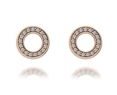 Cercei Diamonds Hot Emozioni Saturno Rose Gold DE409