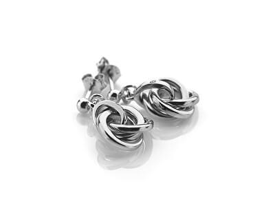 Stříbrný náhrdelník Trio DP543 (řetízek, přívěsek)