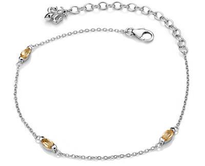 Stříbrný náramek pro narozené v listopadu Anais Citrin AB011