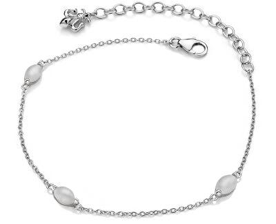 Stříbrný náramek pro narozené v červnu Anais měsíční kámen AB006