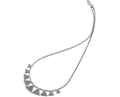 Luxusný strieborný náhrdelník so zirkónmi Emozioni Cleopatra EN001