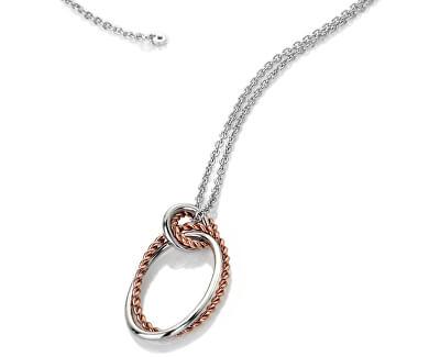 Strieborný náhrdelník s pravým diamantom Jasmine RG DP738