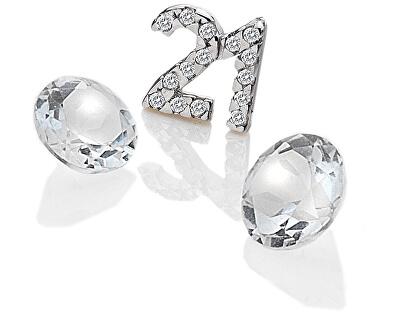"""Element """"21"""" mit Zirkonia und Topasen EX210"""
