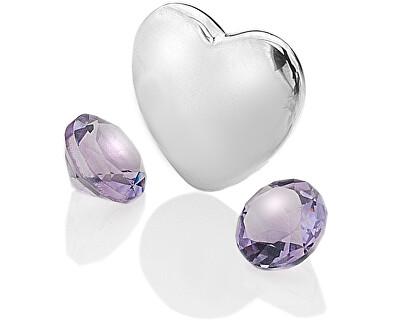 Element Herz mit Amethysten Anais Februar EX121