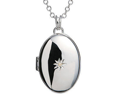 Colier Medalion cu diamant DP143_DP549