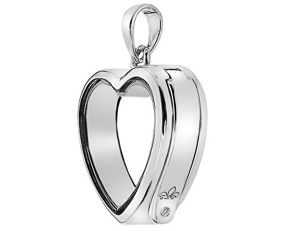 Pandantiv pe element Anais Inimă cu diamant EX001