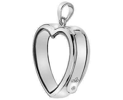 Pandantiv Anais Inimă cu diamant EX003