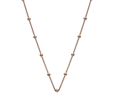 Lanț din argint placat cu aur roz Emozioni CH051