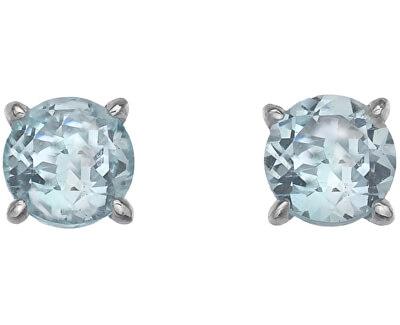 Stříbrné náušnice Hot Diamonds Anais modrý Topaz AE012