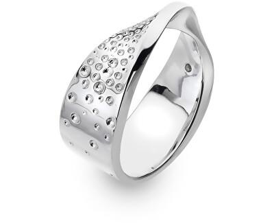 Stříbrný prsten s diamantem Quest DR219