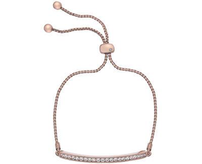 Brățară elegantă cu zirconi și diamant Crystal Clear DL517