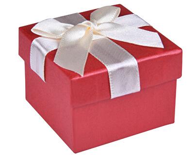 Červená krabička na náušnice nebo prsten AP-2/A10