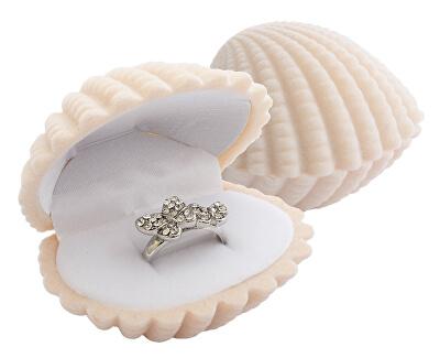 Geschenkbox für Ring oder Ohrringe Muschel GD-6/A20