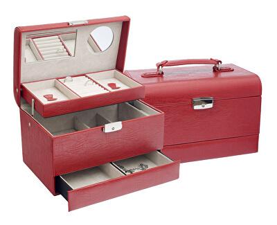 Designová červená šperkovnice SP-901/A7