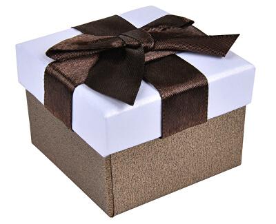 Hnědá krabička na náušnice nebo prsten AP-2/A21