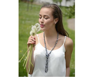 Zvýhodnená perlová súprava šperkov Jl0028 a JL0086 (náušnice, náhrdelník)