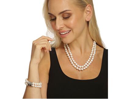Zvýhodněná perlová souprava šperků JL0598 a JL0656 (náramek, náhrdelník)