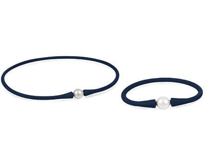 Zvýhodněná perlová souprava sportovních šperků JL0342 a JL0343 (náramek, náhrdelník)