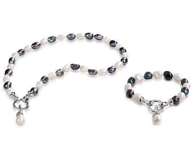 Zvýhodnená súprava šperkov JL0316 a JL0317 (náhrdelník, náramok)