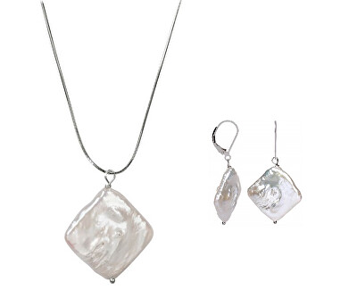 Zvýhodnená súprava šperkov JL0391 a JL0392 (náušnice, náhrdelník)