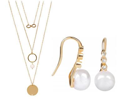 Zvýhodnená súprava šperkov JL0411 a JL0421