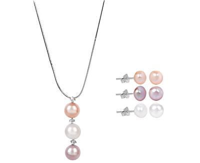 Zvýhodnená súprava šperkov JL0425 a JL0426 (náušnice, náhrdelník)