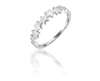Jemný hvězdičkový prsten SVLR0291XH200