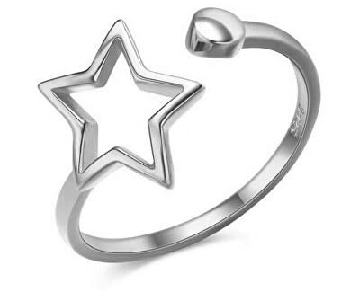 Schöner offener Silber Ring SVLR0256XH2BI