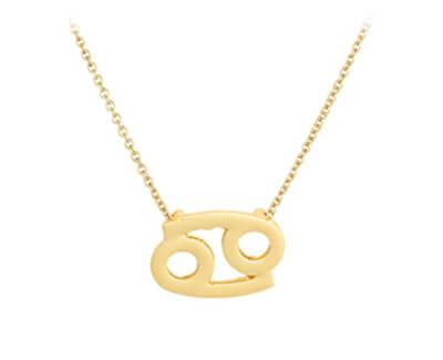 Pozlacený náhrdelník s přívěskem Rak SVLN0195XH2GORA