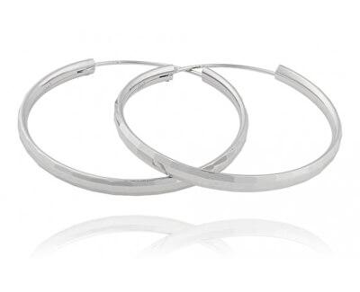 Stříbrné náušnice kruhy SVLE0207XD500