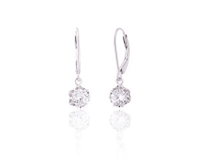 Cercei de argint cu cristale strălucitoare SVLE0015SD5BI00