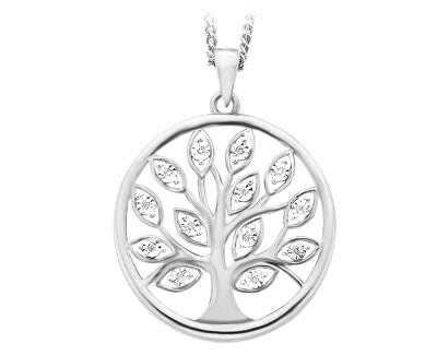 Stříbrný přívěsek se zirkony Strom života SVLP0530XH2BI00