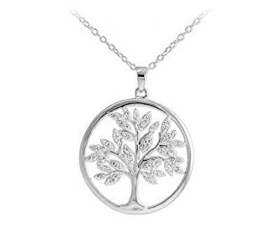 Stříbrný přívěsek se zirkony Strom života SVLP0569XH2BI00