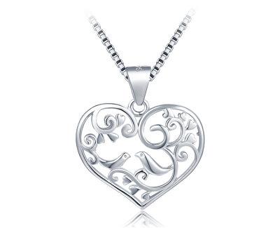 Stříbrný přívěsek Srdce se stromem života SVLP0603XH20000