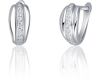 Orecchini in argento di stile con zirconi SVLE0633XH2BI00