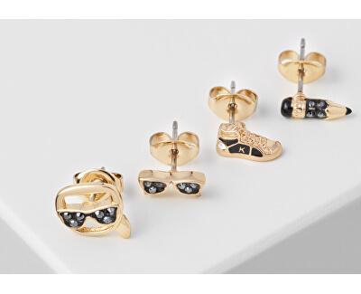 Set de patru cercei Mini Multi-Charms 5512305