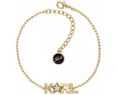 Brățară placata cu aur Bold Star Logo 5483573