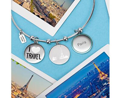 Cestovatelský pevný náramek Myself LPS05ATA02