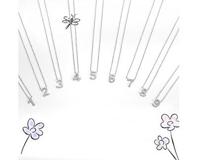 """""""6"""" acél nyaklánc LPS10AQK06 kristályokkal"""