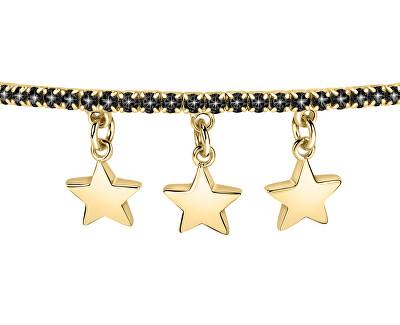 Csillogó aranyozott karkötő csillagok LPS05APZ18