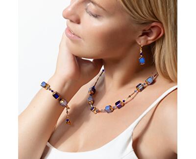 Außergewöhnliche Iceglas NCU15 Perlenkette für Damen