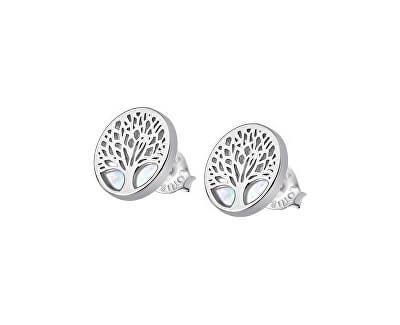 Krásné stříbrné náušnice pro ženy Strom života LP1678-4/1