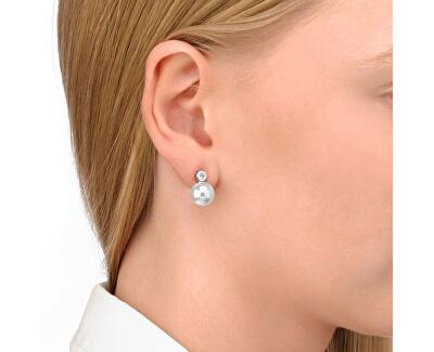 Stříbrné náušnice s perlou a krystalem 11043.01.2.000.010.1