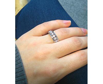 Silber Ring mit Zirkonia M11084