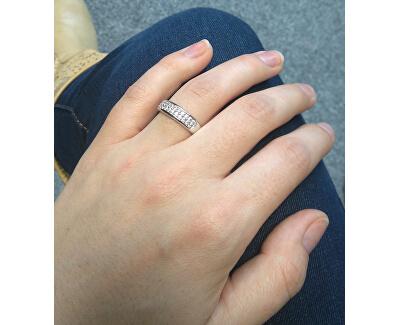 Inel sclipitor din argint cu zirconii M11083