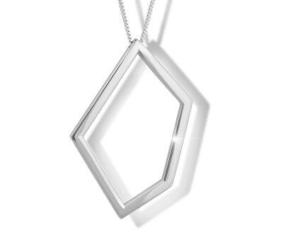 Colier din argint M46008 (lanț, pandantiv)