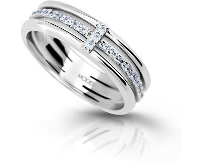 Silber Ring mit Zirkonia M11085